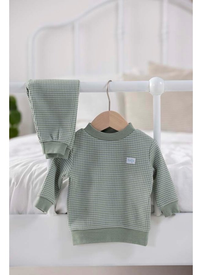 Pyjama wafel (groen summer special) 305.533