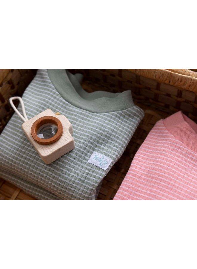 Pyjama wafel (groen summer special) 305.533.1