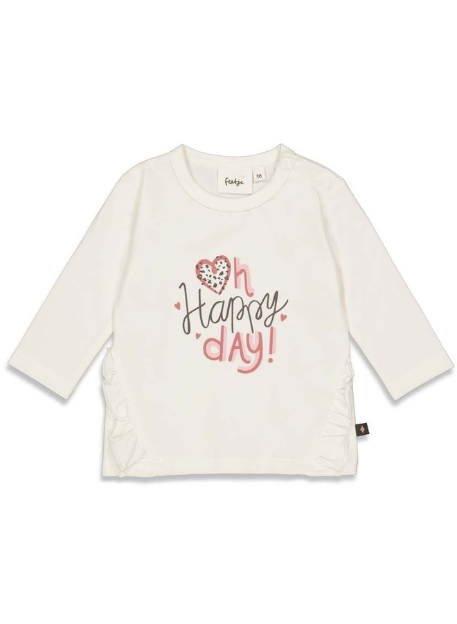 Longsleeve Happy Day - Full Of Love (Offwhite) 51601748