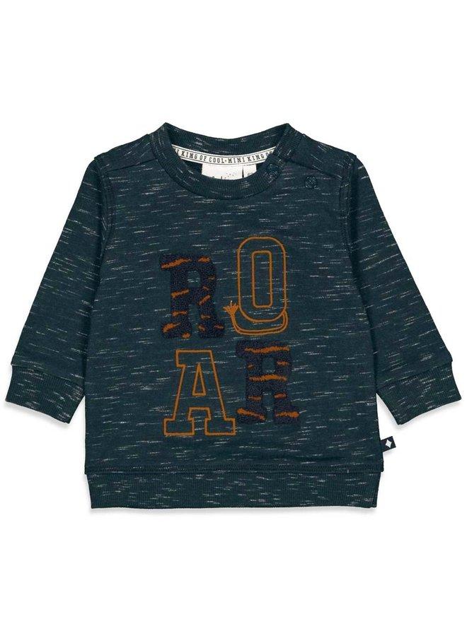 Sweater - King Of Cool (Marine melange) 51601763
