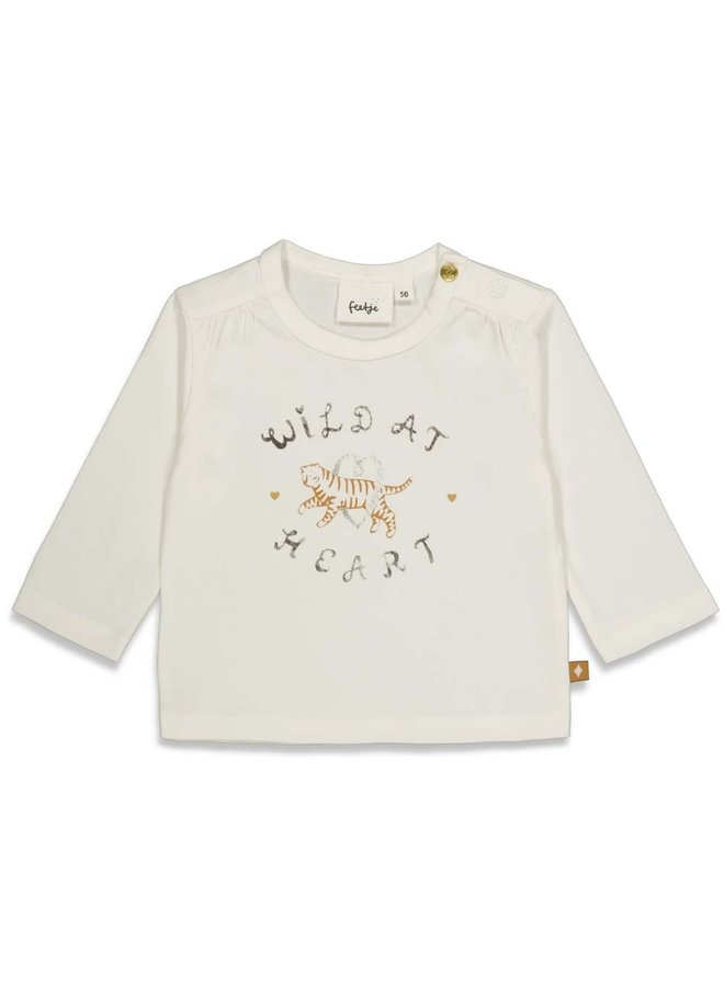 Longsleeve - Wild At Heart (Offwhite) 51601795