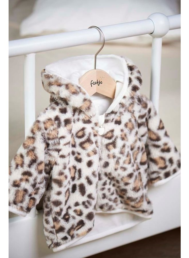 Teddy jasje met capuchon About You - Wild At Heart (Offwhite melange) 51800266