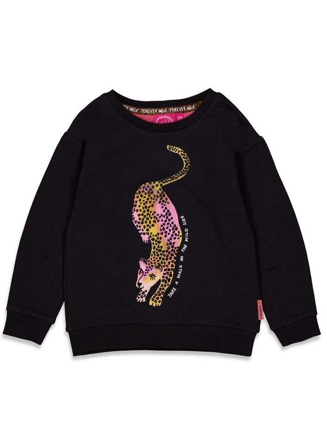 Sweater - Forever Wild (Zwart) 91600301