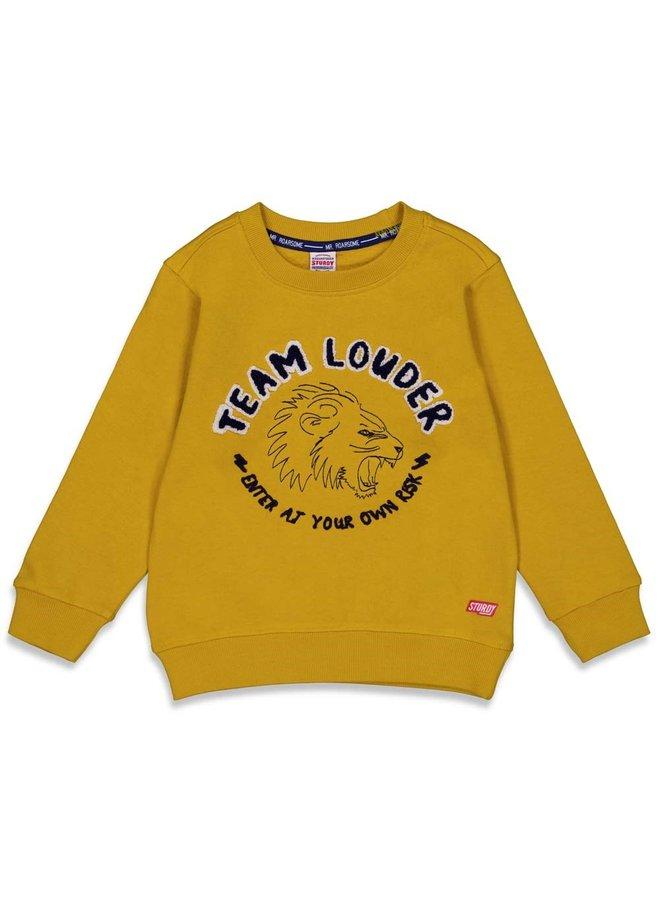 Sweater Louder - Press And Play (Geel) 71600433