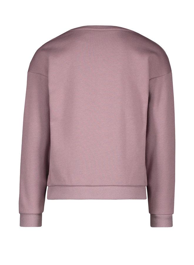 Flo girls sweat frill sweater F108-5395 Lilac