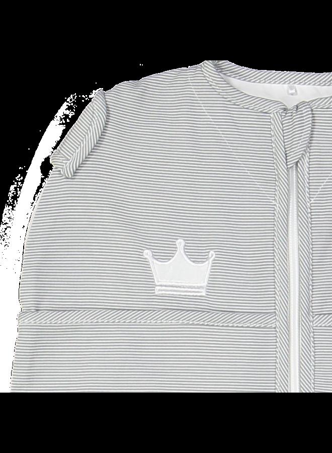 Puckababy mini   Grey stripe