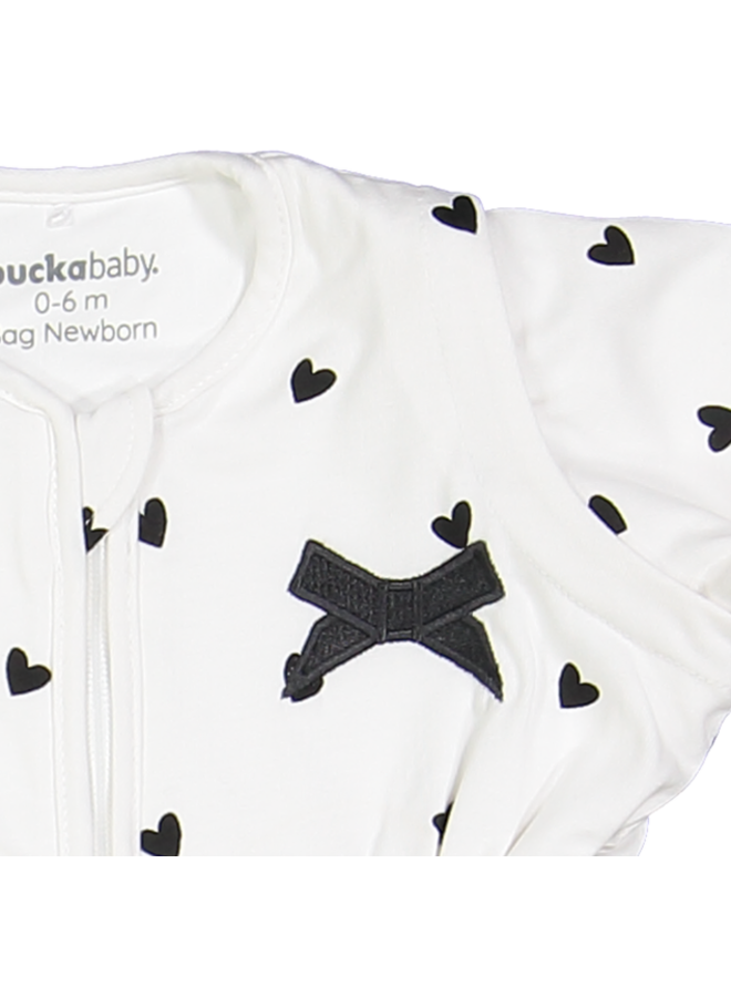 Puckababy bag newborn | White love