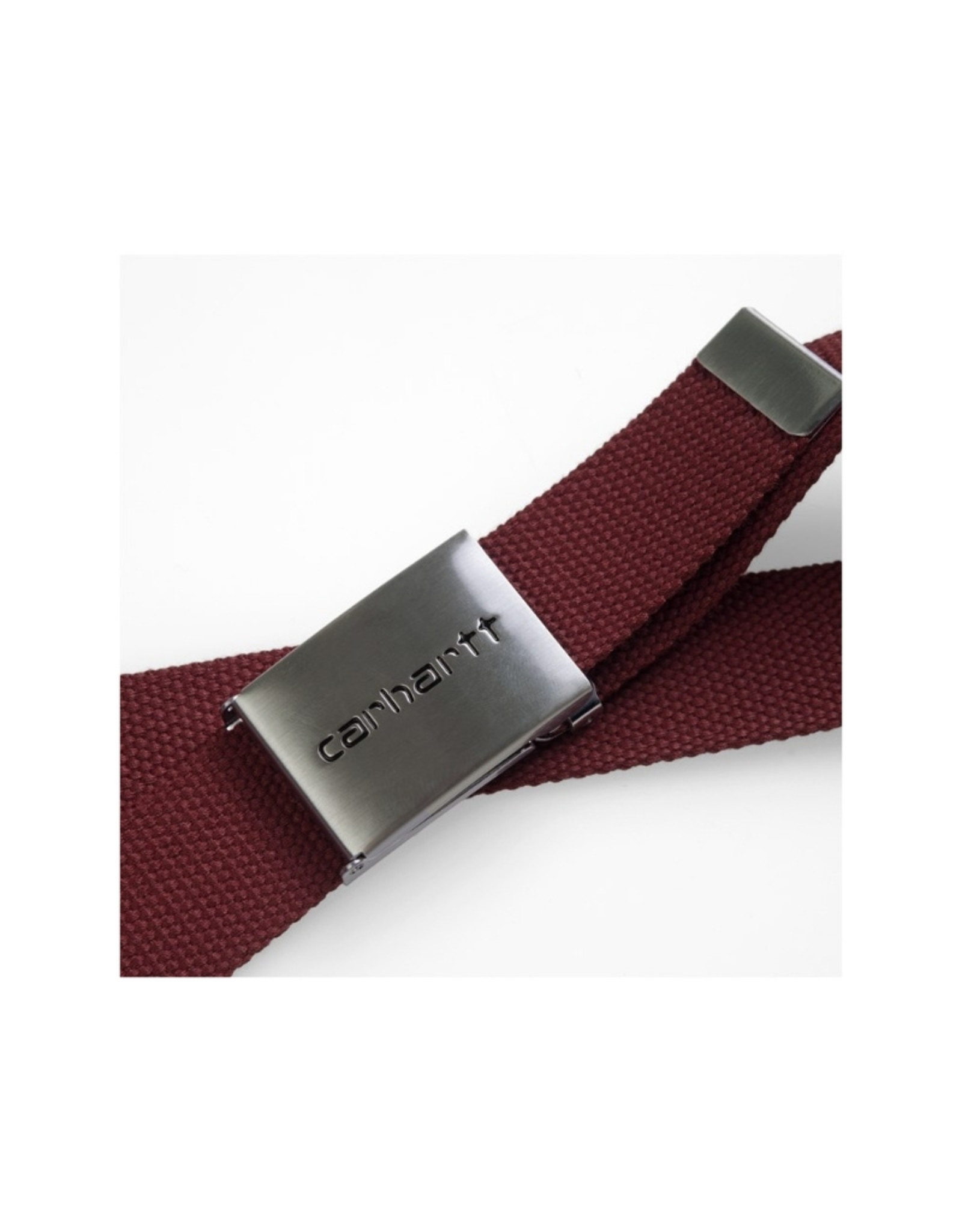 Carhartt - CLIP BELT CHROME