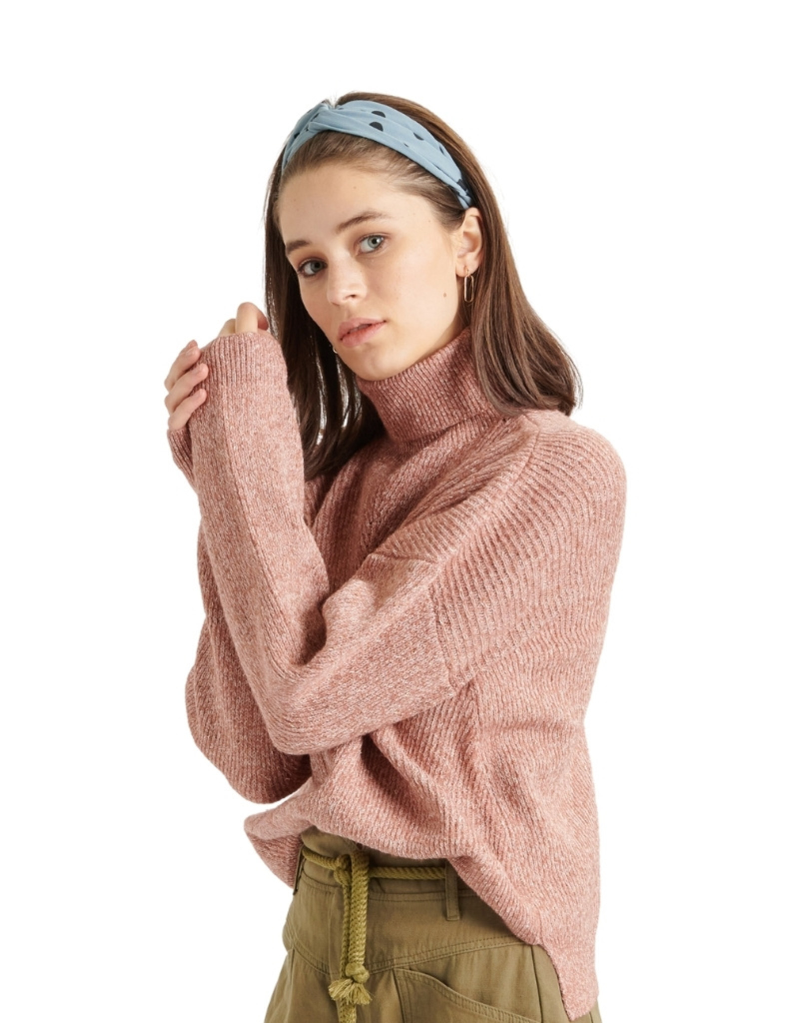 24Colours - PULL COL ROULE (40744b)