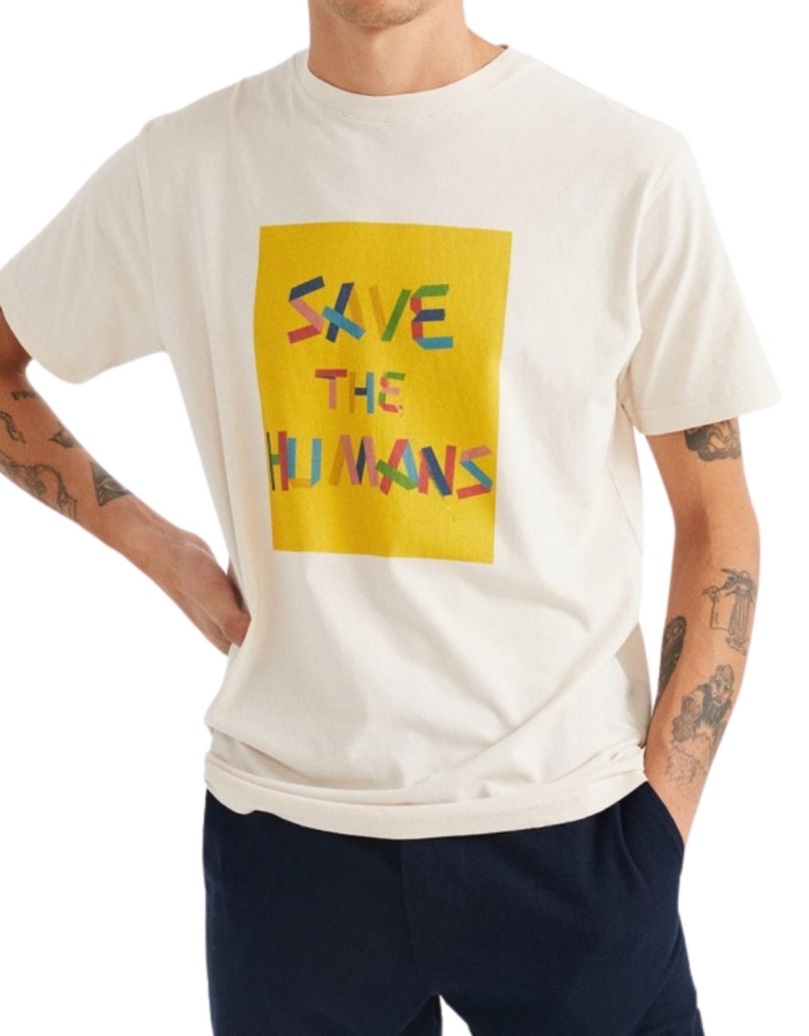 Thinking Mu - SAVE THE HUMANS TEE