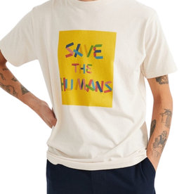 Thinking Mu - SAVE THE HUMANS TEE