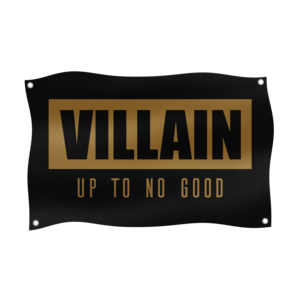 Villain Villain Gold Flag