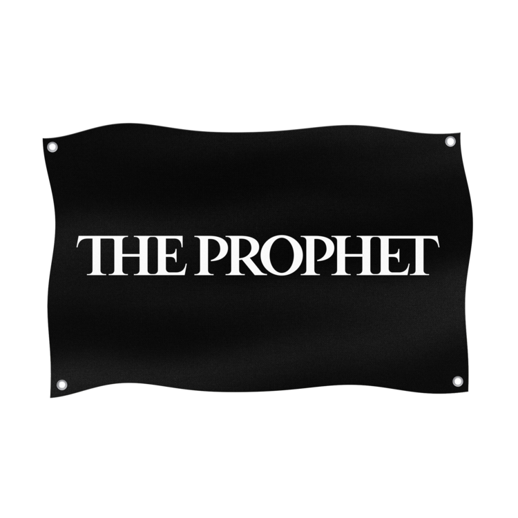 The Prophet Hardstyle.com - Merchandise & Shop - The Prophet Logo Flag