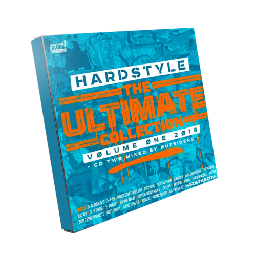 Cloud9 x Hardstyle.com Hardstyle The Ultimate Collection - Vol. 1 2019 2CD