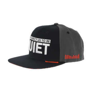 Noisecontrollers Hardstyle.com   - Merchandise & Shop -  Noisecontrollers Snapback (Don't Expect Us To Be Quiet)