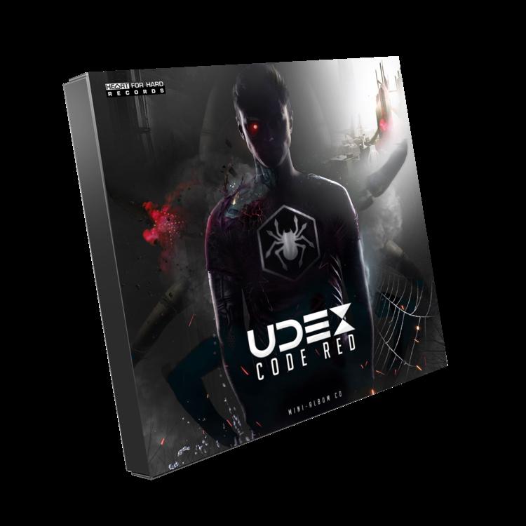Udex Hardstyle.com - Merchandise & Shop - Udex - Code Red Album