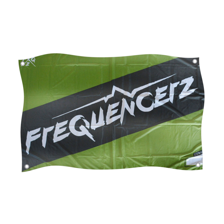 Frequencerz Hardstyle.com  - Merchandise & Shop - Frequencerz Flag Green