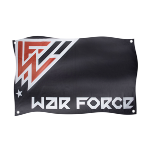 War Force War Force Flag Black