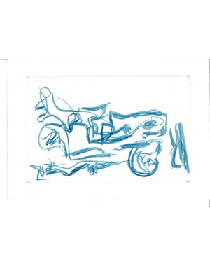 Krijttekening 806 | Theo Wolvecamp (1925 – 1992)