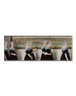 Koelkastmagneet | Amsterdamse weesmeisjes, Nicolaas van der Waay