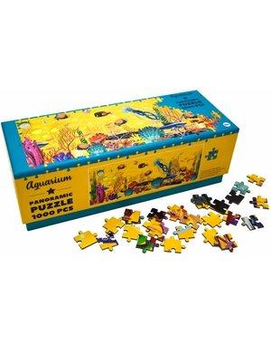 Panorama puzzel | Aquarium, 1000 stukjes