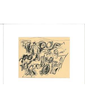Inkttekening 466 | Theo Wolvecamp (1925 – 1992)