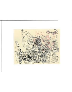Inkttekening 485 | Theo Wolvecamp (1925 – 1992)