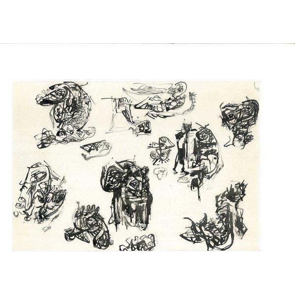 Gouache 516 | Theo Wolvecamp (1925 – 1992)