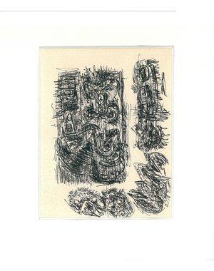 Inkttekening 768 | Theo Wolvecamp (1925 – 1992)