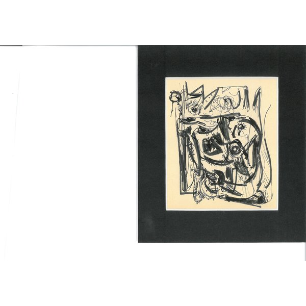 Gouache 774 | Theo Wolvecamp (1925 – 1992)