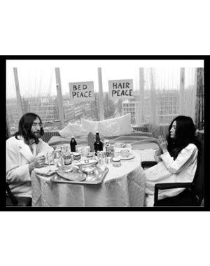 Nico Koster Foto John Lennon & Yoko Ono no. 003