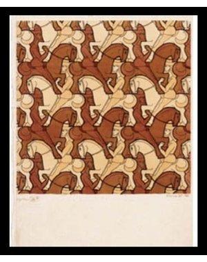 M.C. Escher | Horseman | Ingelijst | no. 15 - serie 57
