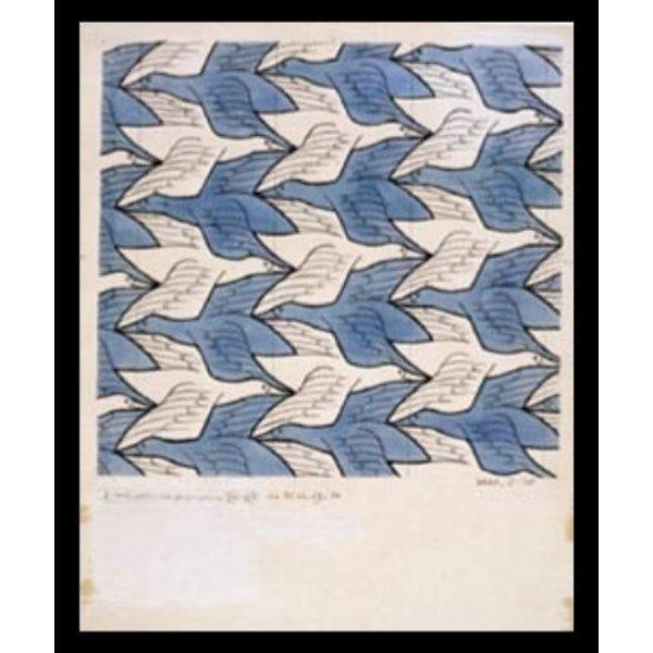 M.C. Escher | Two birds | Ingelijst | no. 12 - serie 57