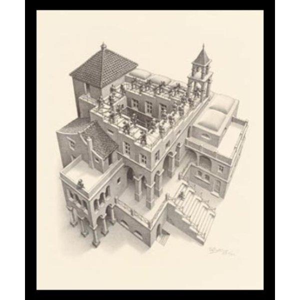 M.C. Escher | Ascending and Descending | Ingelijst | no. 10 -  serie 57