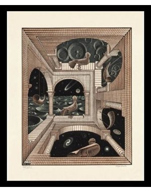 M.C. Escher |Other World | Ingelijst | no. 5 - serie 57