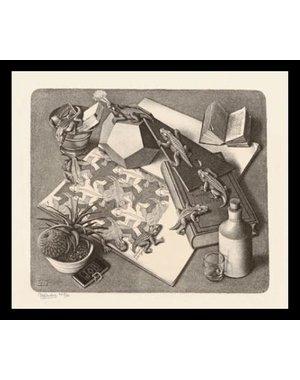 M.C. Escher | Reptiles | Ingelijst | no. 4 - serie 57