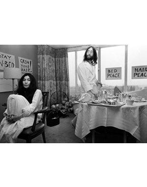 Nico Koster Foto John Lennon & Yoko Ono no. 018