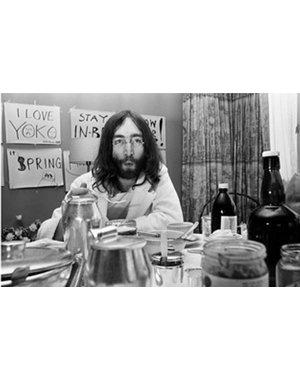 Nico Koster Foto John Lennon & Yoko Ono  no. 020
