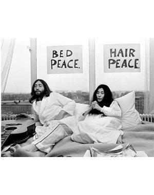 Nico Koster Foto John Lennon & Yoko Ono  no. 022
