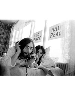 Nico Koster Foto John Lennon & Yoko Ono  no. 024