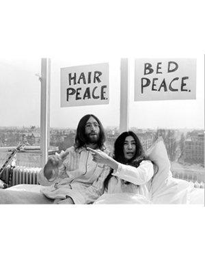 Nico Koster Foto John Lennon & Yoko Ono  no. 008