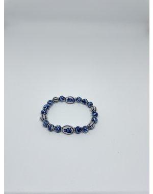 Armband - Delfts blauw | Madame Blue