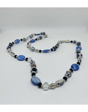 Madame Blue Ketting - Lang glas | Madame Blue