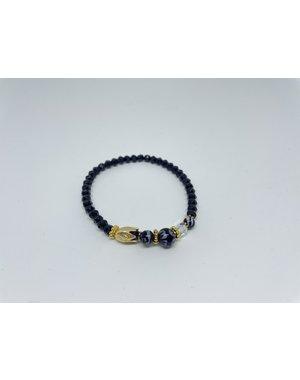 Armband - Tulp goud | Madame Blue