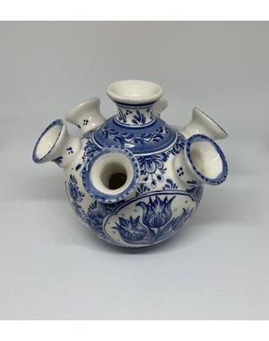 Madame Blue Tulpenvaas - handbeschilderd | Madame Blue