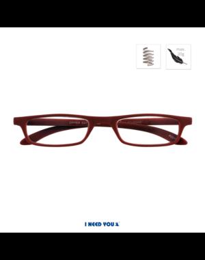 I Need You Leesbril Zipper | I Need You