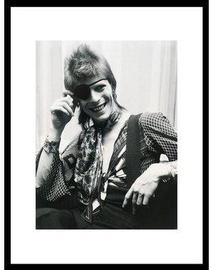 Foto David Bowie, Amstel Hotel, 1973