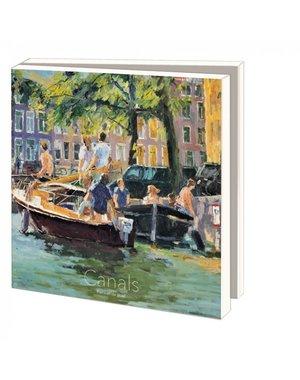 Kaartenmapje Canals Piet van de Hoef