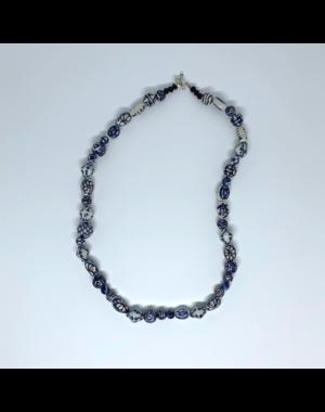 Madame Blue Ketting | porcelein