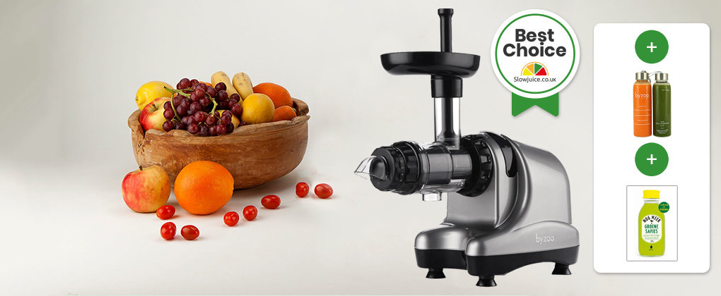 Byzoo Horizontal Slow Juicer